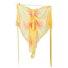 Sidenvingar, gul