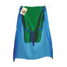Riddarkostym, grön/blå