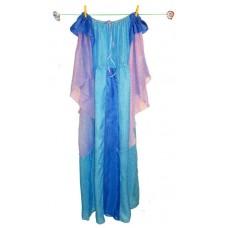 Prinsessklänning och jungfruhatt - turkos