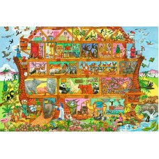 Golvpussel - Noahs Ark, 96 bitar