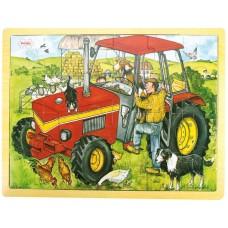 Rampussel - Traktor, 24 bitar