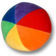 Boll - regnbågsboll, 15 cm