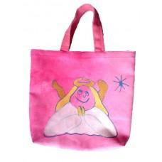 Barnväska - ängel, rosa