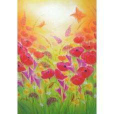 Vykort - BeB1003 - Blomster