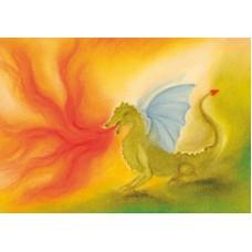 Vykort - BeS1020 - Draken