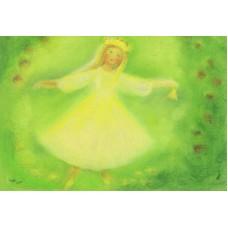 Vykort - M926 - Dansande flicka