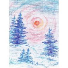 Vykort - M965 - Vinter