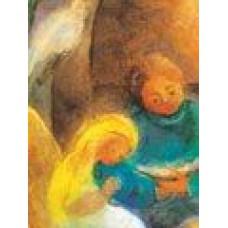 Vykort - M987 - Mor läser för barnet