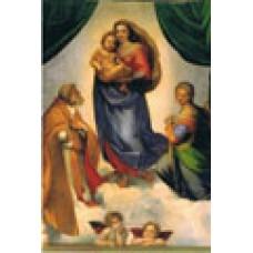 Vykort - R0109 - Sixtinska Madonnan, helbild