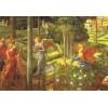 Vykort - R0679 - Änglar i trädgård