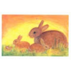 Vykort - R2887 - Kaniner