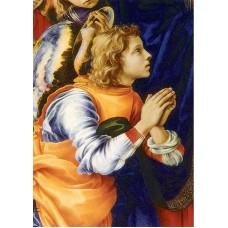Vykort - R3025 - Bedjande Ängel