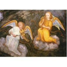 Vykort - R3039 - Musicerande änglar