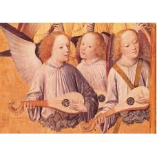 Vykort - R3424 - Musicerande änglar