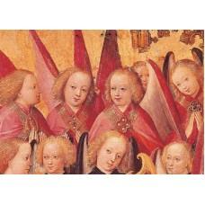 Vykort - R3425 - Musicerande änglar
