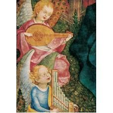 Vykort - R3568 - Musicerande änglar
