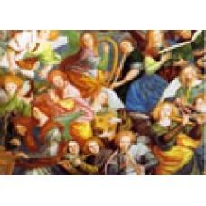 Vykort - R3621 - Musicerande änglar