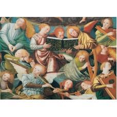 Vykort - R3622 - Musicerande änglar