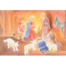 Vykort - R3725 - Herdarnas tillbedjan