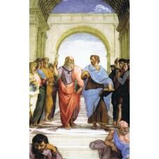 Vykort - R3775 - Platon och Aristoteles