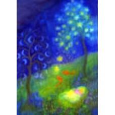 Vykort - R3982 - Mån och stjärneträd