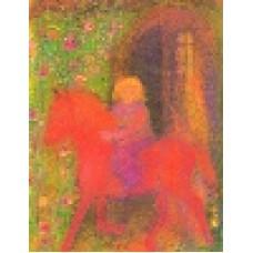 Vykort - R3984 - Min lilla häst