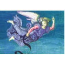 Vykort - R5012 - Ängel, blå