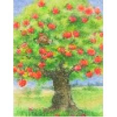 Vykort - R5069 - Pyssling i äppelträd