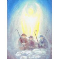 Vykort - R5237 - Ängel hos herdarna