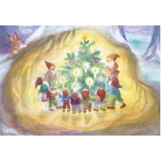 Vykort - R5431- Pysslingarnas julgran