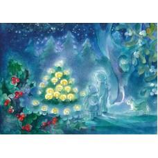 Vykort - Vr169 - Stjärneträd i skogen