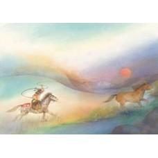 Vykort - W4039 - Vildhäst