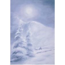 Vykort - Wy - Vinter snö