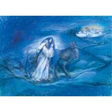 Vykort - MvZ428 - Till Betlehm