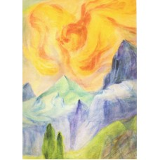 Vykort - Zb02 - Eld, Ljus och Jord