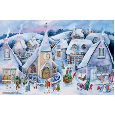 Adventskalender - Jul i staden