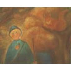 Poster - Mp955 - Herdepojke med ekorre
