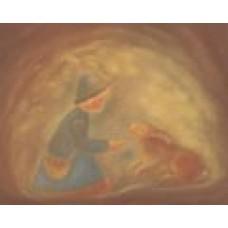 Poster - Mp956 - Herdepojke med kanin
