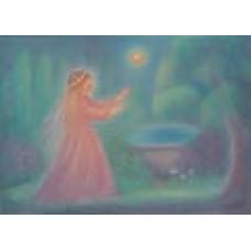 Poster - Mp979- Prinsessa vid brunnen